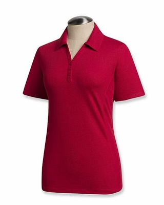 Cutter & Buck Plus Size Women's Polo Shirt: Cotton Blend Championship Short Sleeve (WCK08541)