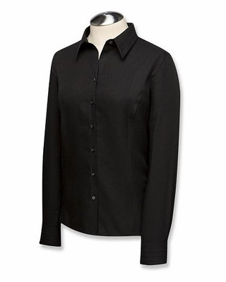 Cutter & Buck Women's Twill Shirt: Epic Easy Care Fine Twill Long Sleeve (LCW08394)