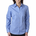 Dickies Women's Poplin Shirt: (FL036)