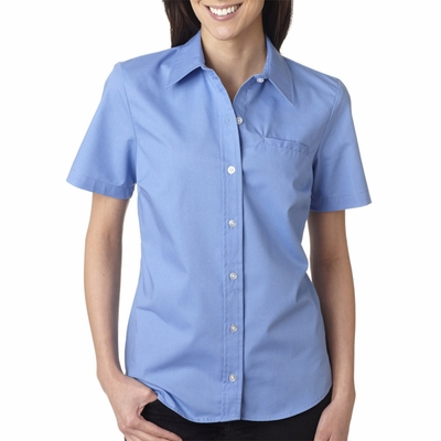Dickies Women's Poplin Shirt: (FS038)