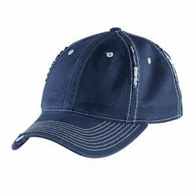 District Cap: Rip And Distressed(DT612)