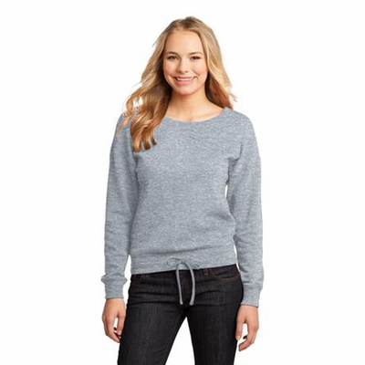 District Junior Women's Sweatshirt: (DT293)