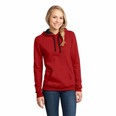 District Junior Women's Sweatshirt: (DT811)