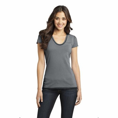 District Junior Women's T-Shirt: (DT2202)
