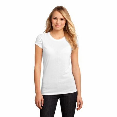 District Junior Women's T-Shirt: (DT2610)