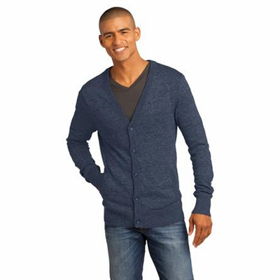 District Made Men's Cardigan: (DM315)