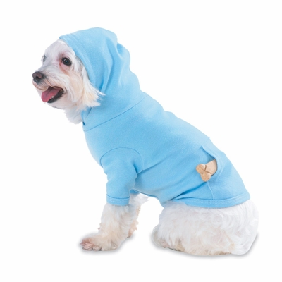 Doggie Skins Hooded T-Shirt: (3933)