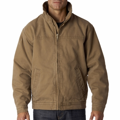 Dri-Duck Men's Jacket: Maverick Quarry-Washed Canvas (5028)