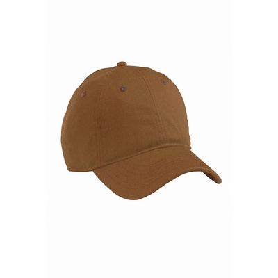 Organic Cotton Twill Unstructured Baseball Hat: (EC7000)