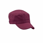 Organic Cotton Twill Corps Hat: (EC7010)