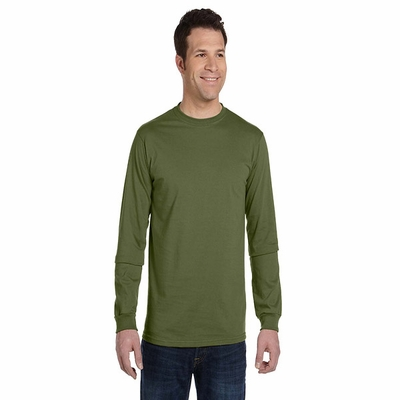 5.5 oz., 100% Organic Cotton Classic Long-Sleeve T-Shirt: (EC1500)