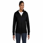 Ladies' 9 oz. Organic/Recycled Full-Zip Hood: (EC4501)