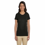 Ladies' 4.4 oz., 100% Organic Cotton Classic Short-Sleeve T-Shirt: (EC3000)