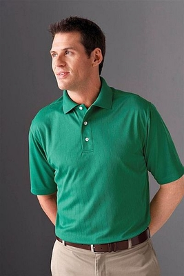 Extreme Men's Polo Shirt: Eperformance Jacquard Pique (85092)