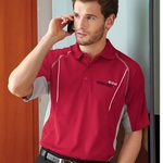 Extreme Men's Polo Shirt: Two-Tone UV Protected w/ Piping  (85110)
