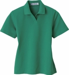 Extreme Women's Polo Shirt: Edry Cotton Blend Interlock (75051)