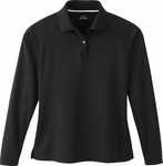 Extreme Women's Polo Shirt: Long Sleeve Eperformance Pique (75061)