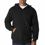 Fruit of the Loom Men's Sweatshirt: 12 oz. Super Heavyweight 70/30 Full-Zip Hood (82230)