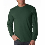 Fruit of the Loom Men's T-Shirt: 100% Cotton Long-Sleeve (4930)