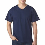 Men's 5 oz., 100% Heavy Cotton HD® V-Neck T-Shirt: (39VR)