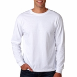 Fruit of the Loom Men's T-Shirt: 5.6 oz. 50/50 Long-Sleeve Best (7930)
