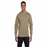 Fruit of the Loom Men's T-Shirt: Lofteez Long Sleeve Tagless (HD6LR)