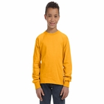 Youth 5 oz., 100% Heavy Cotton HD® Long-Sleeve T-Shirt: (4930B)
