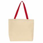 Gemline Tote Bag: Colored Handle (220)