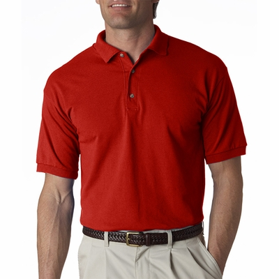 Gildan Men's Polo Shirt: 100% Cotton Ultra Jersey (2800)
