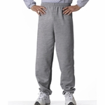 Gildan Men's Sweatpants: 50/50 Heavy Blend Fleece (G182)