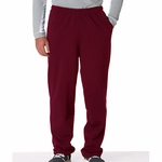 DryBlend® 9.3 oz., 50/50 Open-Bottom Sweatpants: (G123)