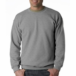 Heavy Blend™ 8 oz., 50/50 Fleece Crew: (G180)