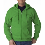 Gildan Men's Sweatshirt: 50/50 Heavy Blend Full-Zip Hood (G186)