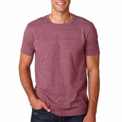 Gildan Men's T-Shirt: 100% Cotton SoftStyle (G640)