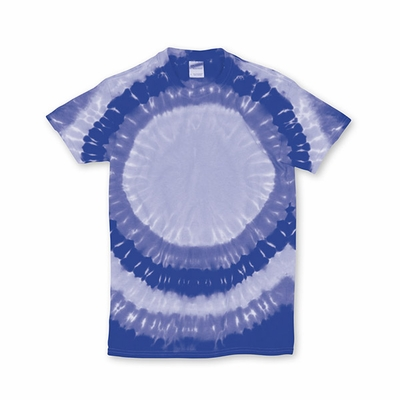 Gildan Men's T-Shirt: 100% Cotton Tie-Dye Teardrop Rainbow (74)