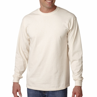 Gildan Men's T-Shirt: 100% Cotton Ultra Long-Sleeve (G240)