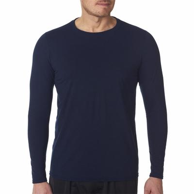 Gildan Men's T-Shirt: 100% Polyester Jersey Core Performance Long Sleeve (42400)