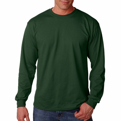 Gildan Men's T-Shirt: 50/50 DryBlend Jersey Long Sleeve (G840)