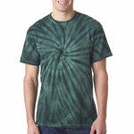 Gildan Men's T-Shirt: 100% Cotton Tie-Dye Vat-Dyed Cyclone (67)