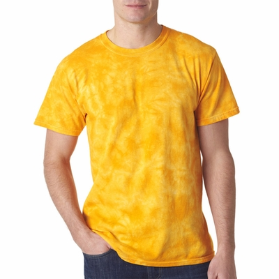 Gildan Tie Dye Adult T-Shirt: 100% Cotton Crystal (83)