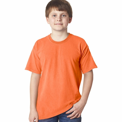 Gildan Tie Dye Youth T-Shirt: 100% Cotton Neon Solid Pigment-Dyed (61B)