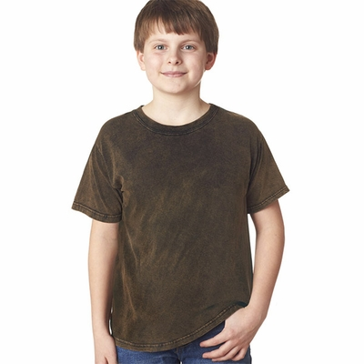 Gildan Tie Dye Youth T-Shirt: 100% Cotton Volcano-Wash (63B)