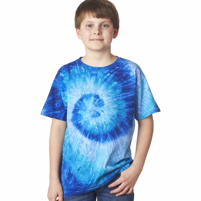 Gildan Tie Dye Youth T-Shirt: (87B)