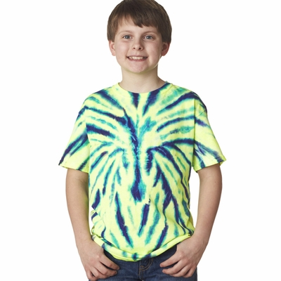 Gildan Tie Dye Youth T-Shirt: (93B)