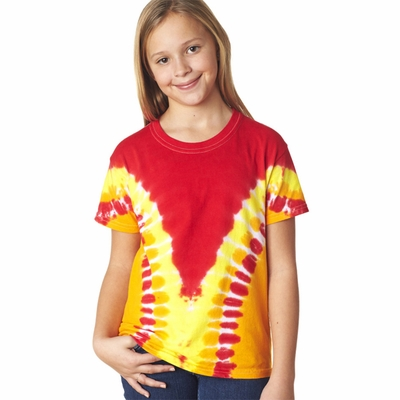 Gildan Tie Dye Youth T-Shirt: (96B)