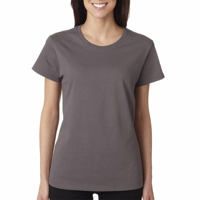 Gildan Women's T-Shirt: 100% Cotton Heavy  (5000L)