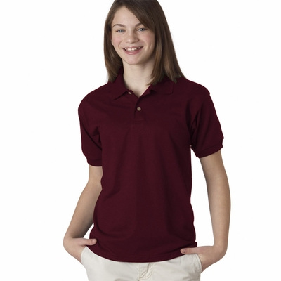 Gildan Youth Polo Shirt: 50/50 DryBlend Jersey (G880B)