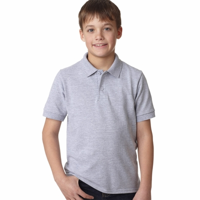 Gildan Youth Polo Shirt: 50/50 DryBlend Pique (94800B)