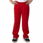 Gildan Youth Sweatpants: 50/50 Heavy Blend Fleece Open Bottom (18400B)
