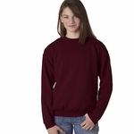 Heavy Blend™ Youth 8 oz., 50/50 Fleece Crew: (G180B)